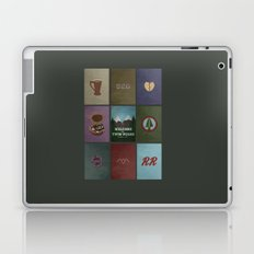 Twin Peaks colors Laptop & iPad Skin