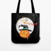 Halloween's pumpkin Tote Bag