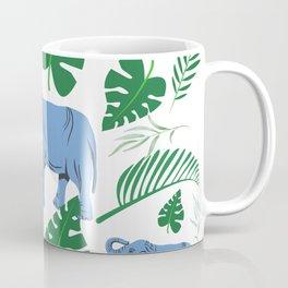 Blue Elephant Coffee Mug