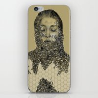 bees iPhone & iPod Skins featuring bees by stacyyufa