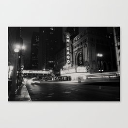 Chicago Theatre ... Canvas Print