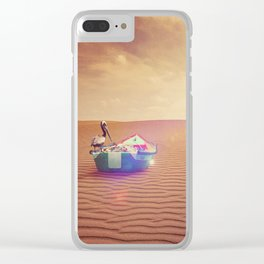 Where it is not supposed Clear iPhone Case