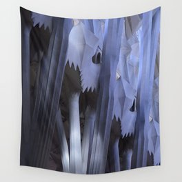 Abstract Sagrada Familia Wall Tapestry