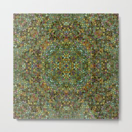 Mosaic 2d Metal Print