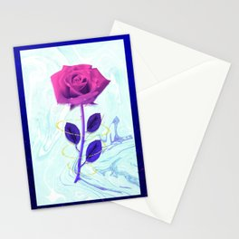 Arien Rose Stationery Cards