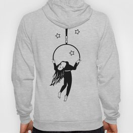 Trapeze-artist under the Circus dome Hoody