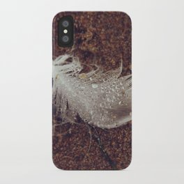 Beach Feathers 2 iPhone Case