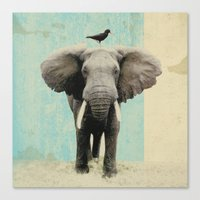african Canvas Prints featuring friends for life  by Vin Zzep