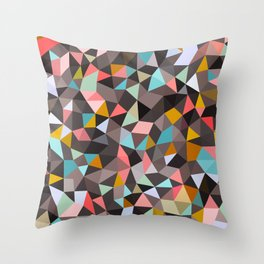 Java House Tris Throw Pillow
