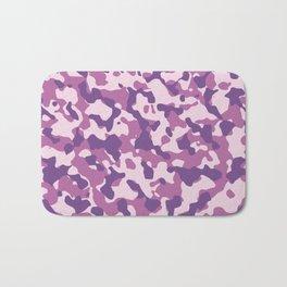 Camouflage Trending Colors Purple Bath Mat