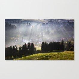 Traditional landscape Canvas Print