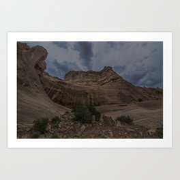 New Mexican Mountains Art Print
