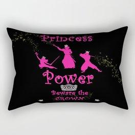 Princess Power Beware the Crown Ninja Princesses Rectangular Pillow