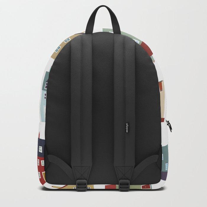 Little Houses Backpack