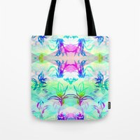 psych Tote Bags featuring 'Plant Psych' by Hannah Stouffer