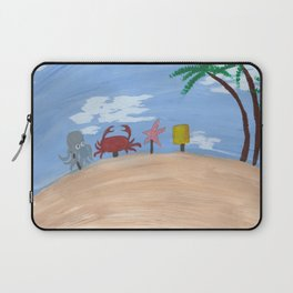 Above Bikini Bottom Laptop Sleeve