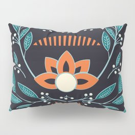 Dark flora 001 Pillow Sham