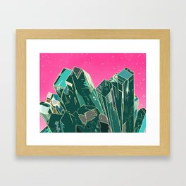 Dioptase Framed Art Print