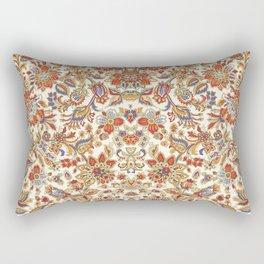 Floral Batik Pattern Rectangular Pillow