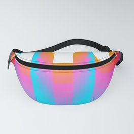 NYC colorful print design Fanny Pack