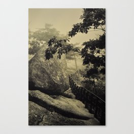 Mysterious mountain. Canvas Print