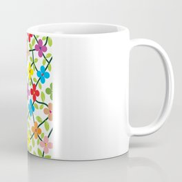Spring white panel Coffee Mug