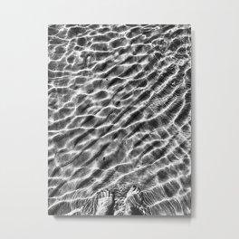 Ripple effect Metal Print