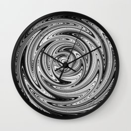 Pinwheel In Motion Wall Clock
