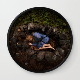 In the Womb of the Earth Wall Clock