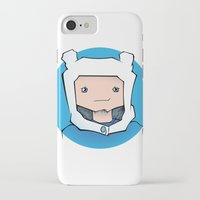 finn iPhone & iPod Cases featuring Finn by Shay Bromund