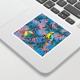 Tropical Jungle Toucan Parrot Sticker