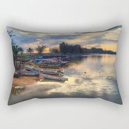 FISHERMAN_BOAT Rectangular Pillow