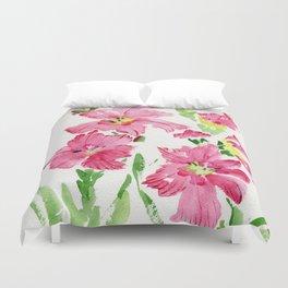 Glad In  Pink Duvet Cover