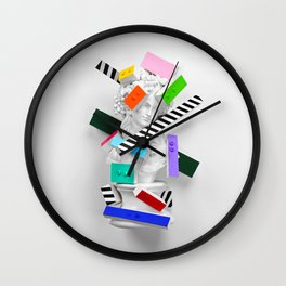The Anxiety of Subjectivity Wall Clock
