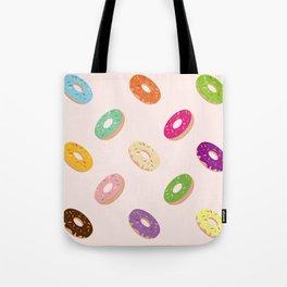 Donuts Pattern | Pastel Pink Tote Bag
