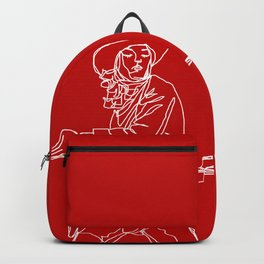 Crimson Cowgirl Backpack