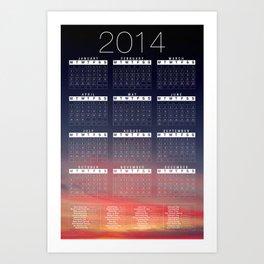 Jan C.P. Luna - 2014 Calender Poster Art Print
