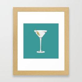 Dry Martini Please Like My Sense of Humour... Framed Art Print