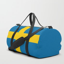 Swedish Flag - Authentic HQ Duffle Bag