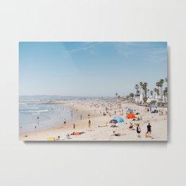 San Diego Beach Metal Print