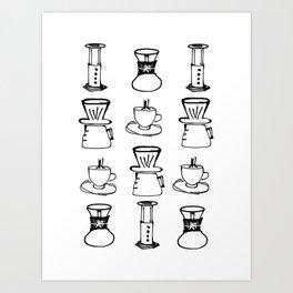 Metodos Art Print
