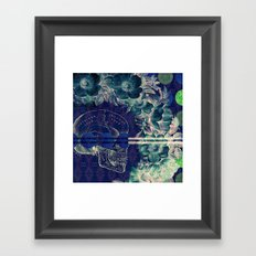 Remains of Yesterday Framed Art Print