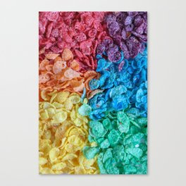 Fruity Pebbles I Canvas Print