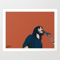 dave grohl Art Prints featuring Dave Grohl by Gnottingham
