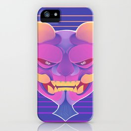 bright beasts iPhone Case