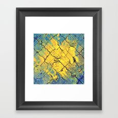 sunabstract. Framed Art Print