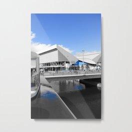 Aquatics Centre - London 2012 - Olympic Park Metal Print