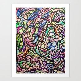 ColorSync Art Print