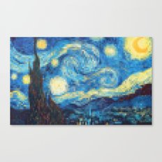 Lego: The Starry Night Canvas Print
