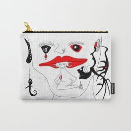 LADY MOMO Carry-All Pouch